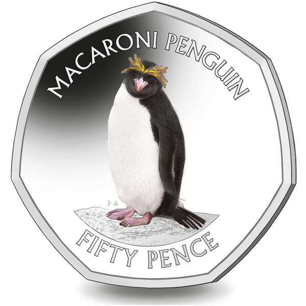The Penultimate Coin in our 2020 Penguin 50p Series is Out Now