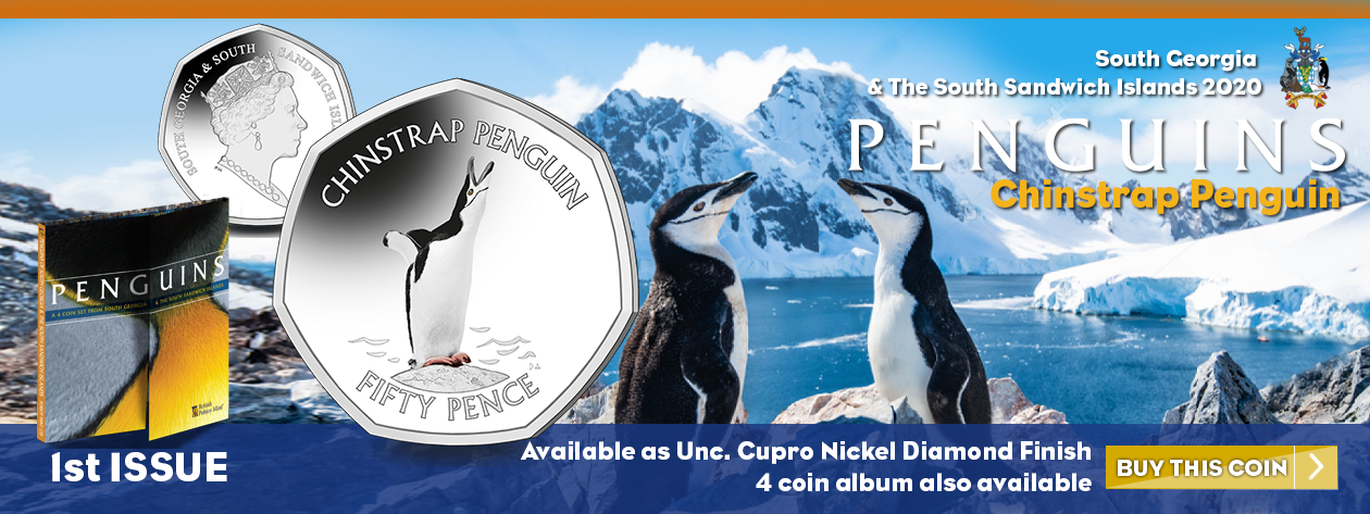 Introducing for 2020, a NEW 50p Penguin Series