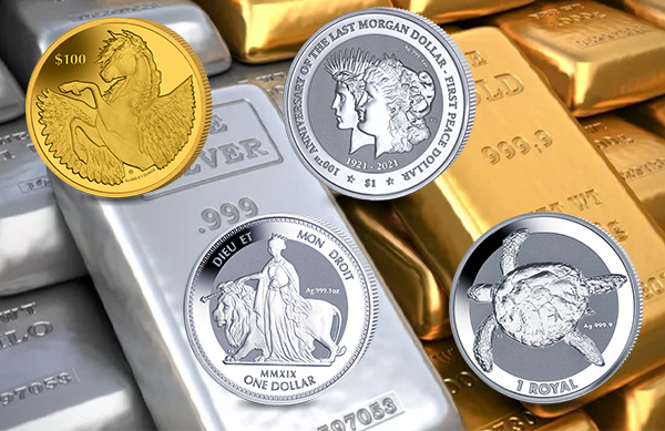 Bullion Coins Released To Date