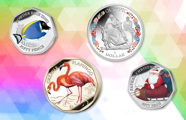 Coloured Coins Released Between 2018-2021