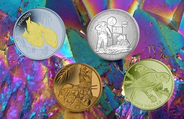 Titanium Coins Released Between 2017-2021